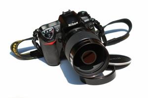 http:  taishimizu.com pictures Reflex Nikkor C 500mm f8 Review Mirror Catadioptric Lens reflex nikkor c 500mm f8 catadioptric mirror lens mounted thumb.jpg